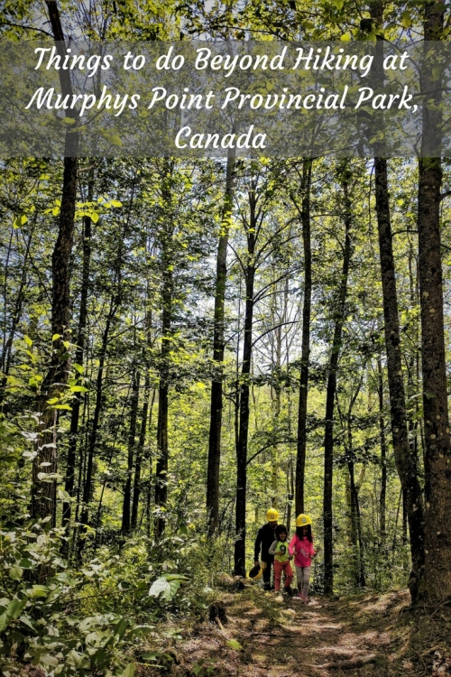 Murphys Point Provincial Park Canada Things to do Perth