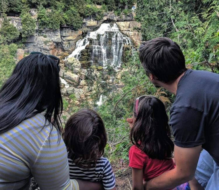 Inglis Falls Owen Sound Visit Grey