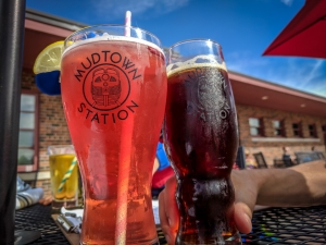 Drinks at Mudtown Brewery
