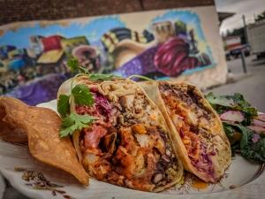 Burrito at Casero Kitchen Table
