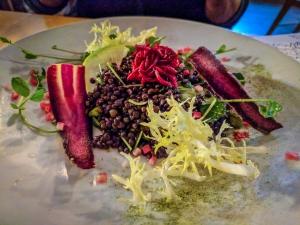 Lentil Salad Bruce Wine Bar