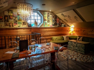 Interior of Bruce Wine Bar