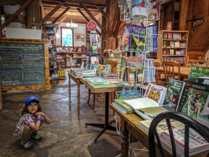 Interior Great Books & Cafe