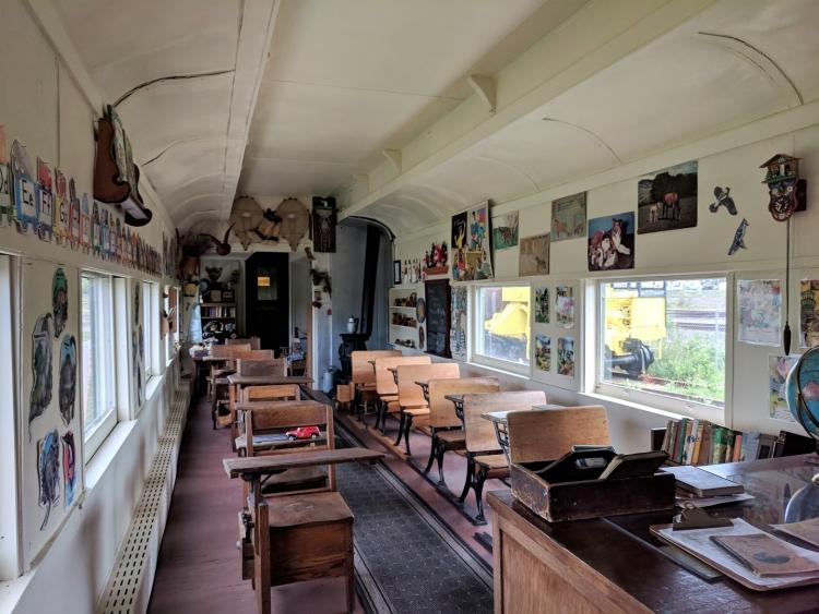 railway museum Sudbury