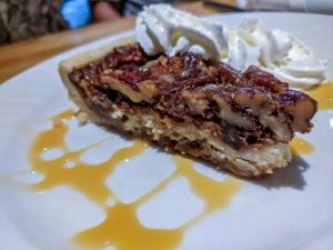 Fiddleheads Maple Bourbon Pecan Tart