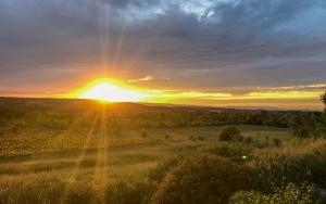 Sunset at Coffin Ridge