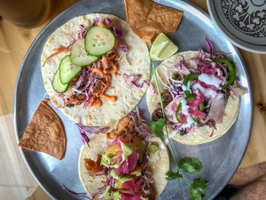 Tacos at Casero Kitchen Table