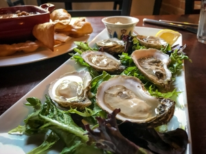 Rocky River Cafe Oysters