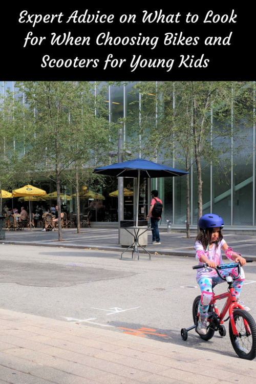 bike buying tips for young kids