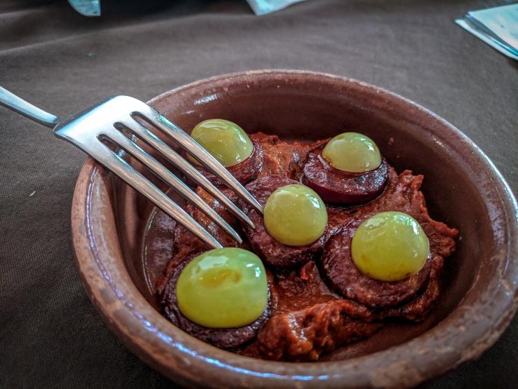 Chorizo Romesco Beast