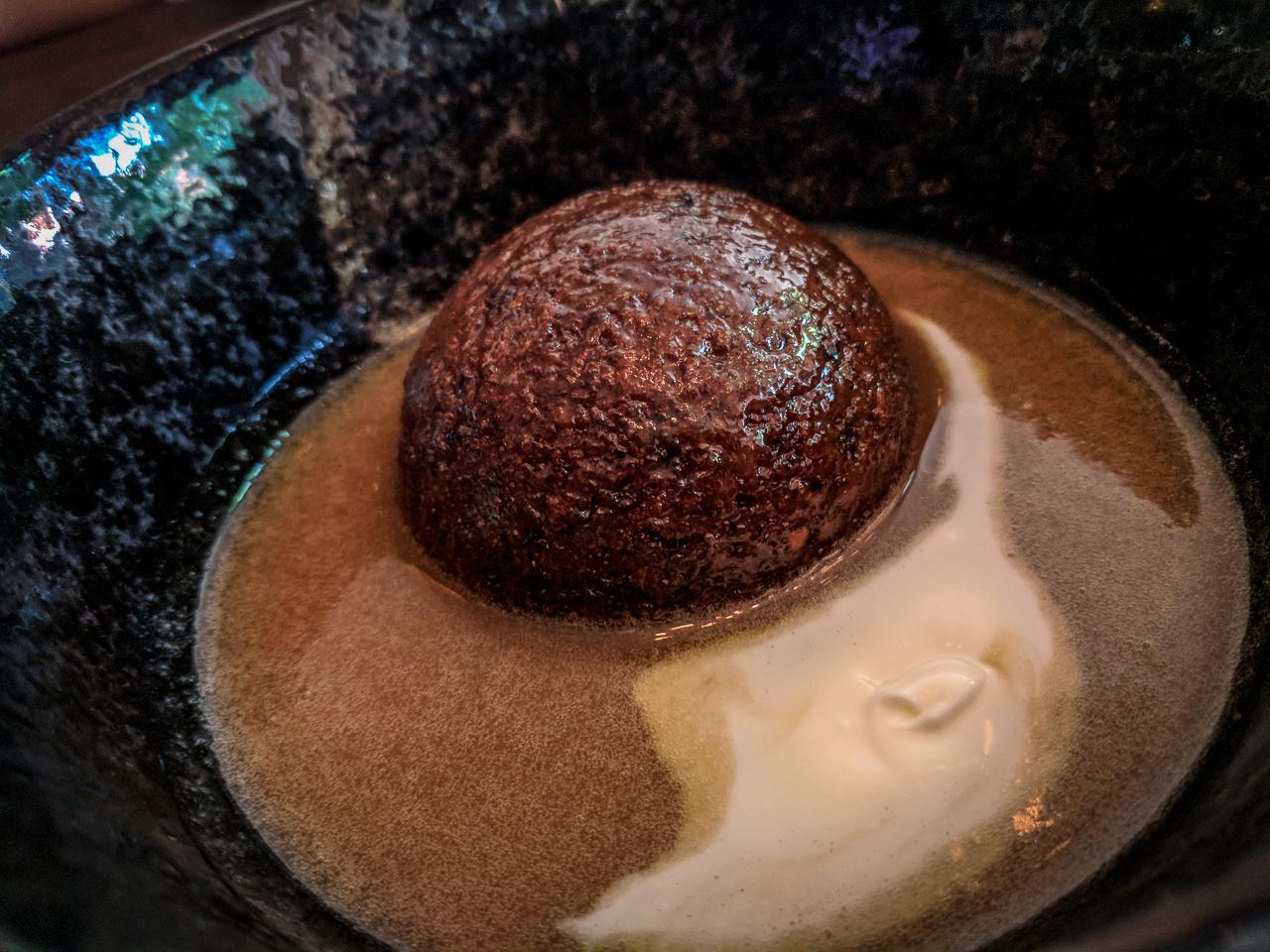Sticky Toffee Pudding Beast Restaurant