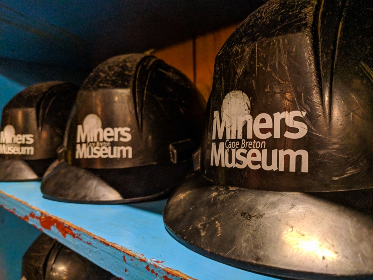 Helmuts at Glace Bay Miners Museum