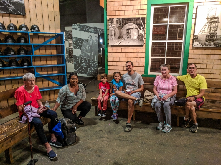 The Murphys at Glace Bay Miners Museum