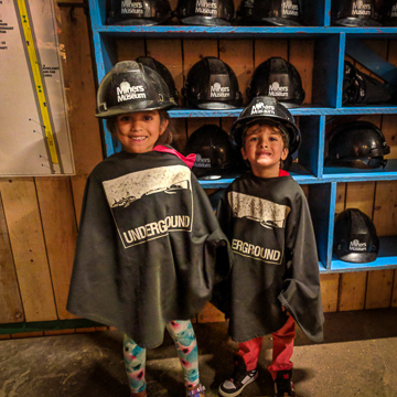 Glace Bay Miners Museum with Kids