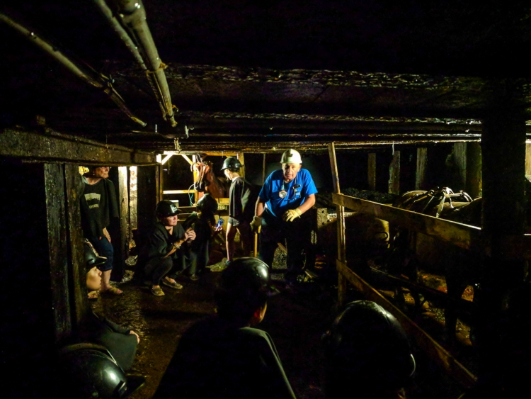 Underground at Glace Bay Miners Museum
