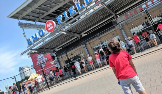 Taking Kids to a Toronto FC Match