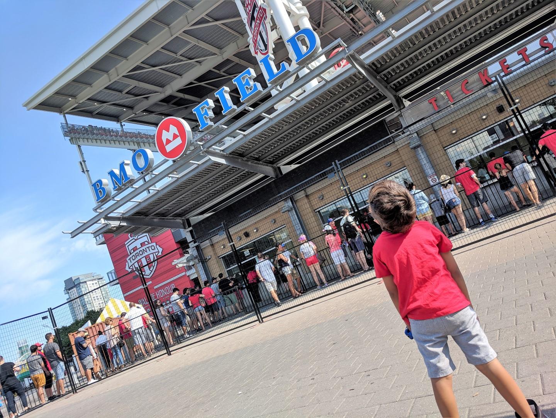 Taking Kids to a Toronto FC Match
