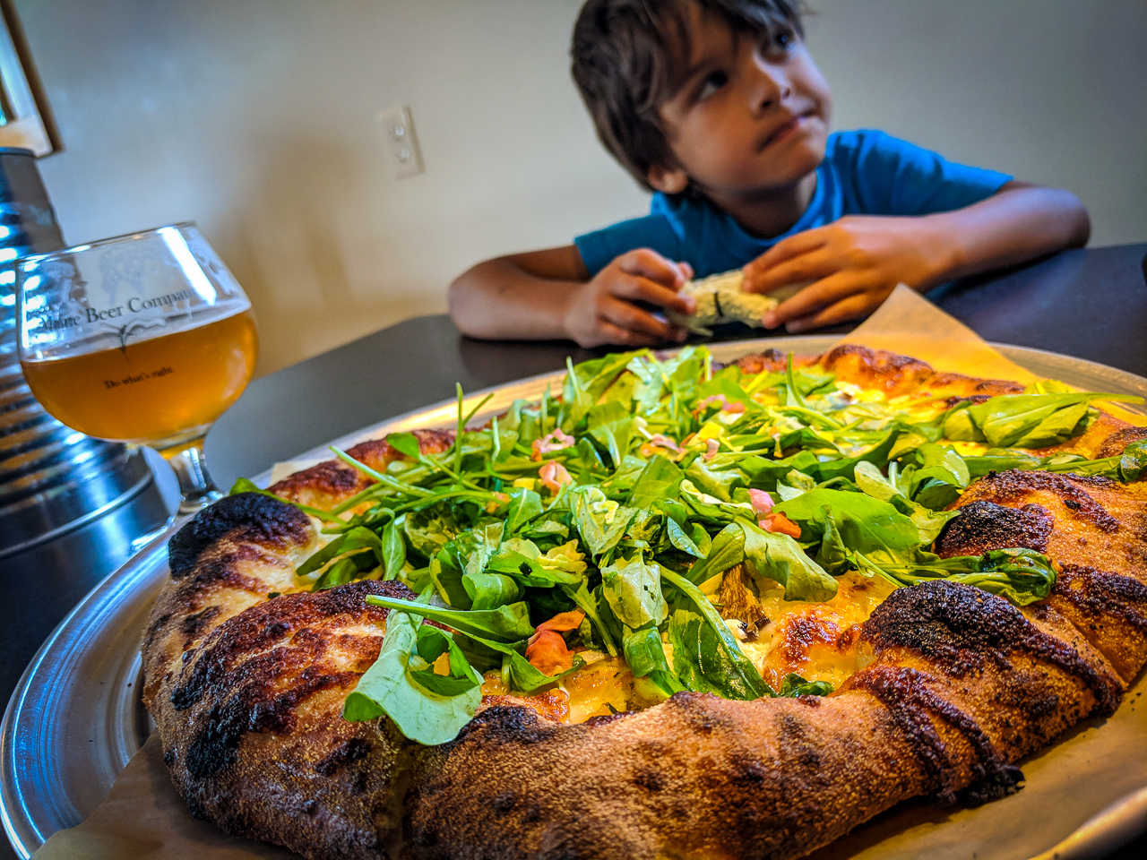 Wood Fired Pizza at the Maine Beer Company