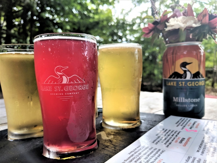 Maine beer trail with kids