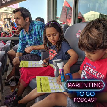 Taking Kids to Live Sporting Events