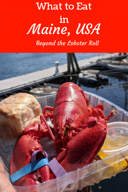 what to eat in Maine. Best local food in Maine.