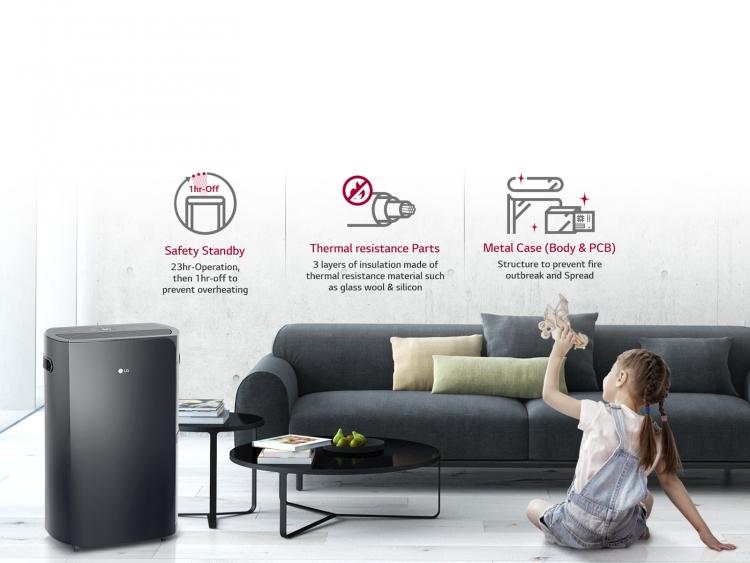 LG puricare dehumidifier condo review