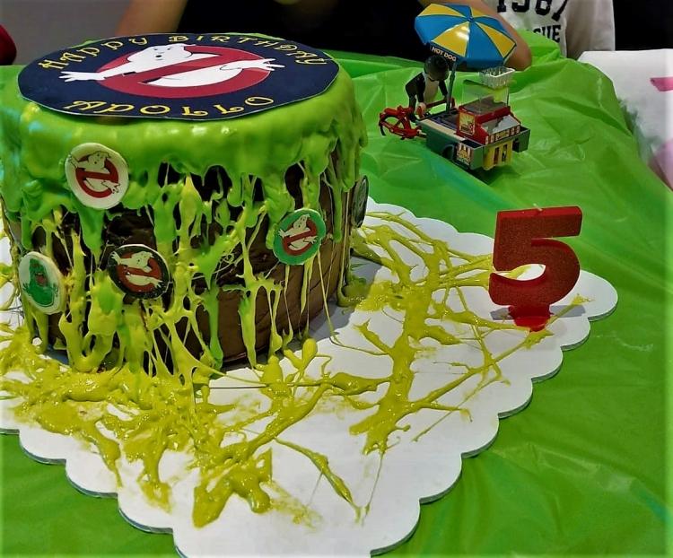 ghostbuster cake