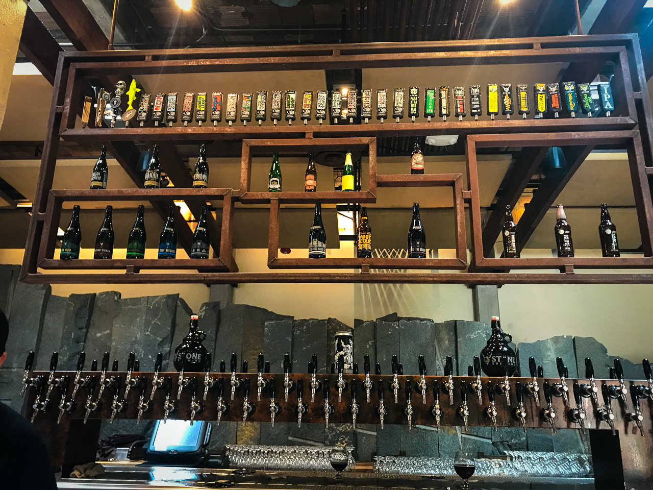 Stone World Bistro Taps | San Diego Craft Beer