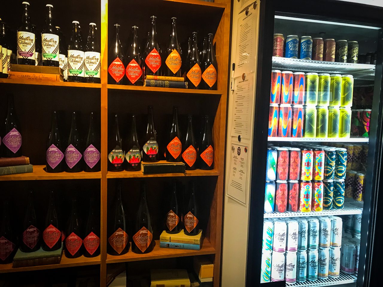 Modern Times Flavordome Bottle Selection