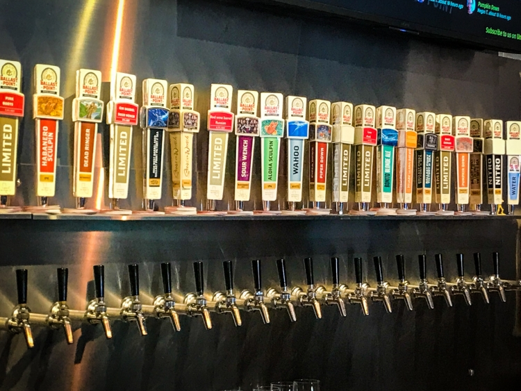 Ballast Point Taps | San Diego Craft Beer