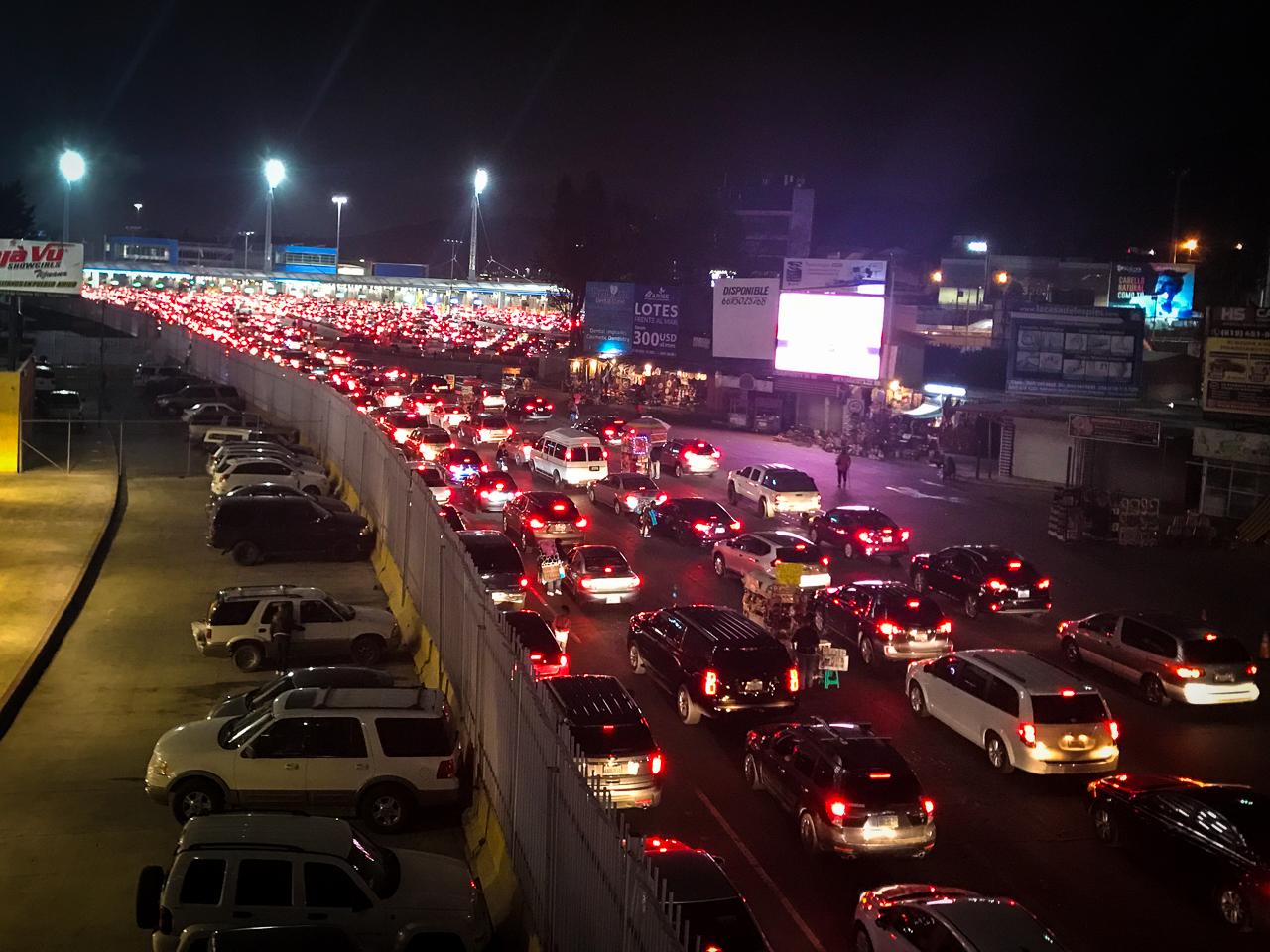 Tijuana US Mexico Border