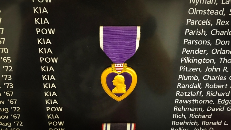 Purple Heart USS Midway