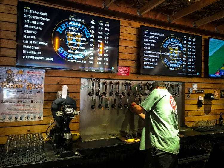Belching Beaver Tap List | San Diego Craft Beer