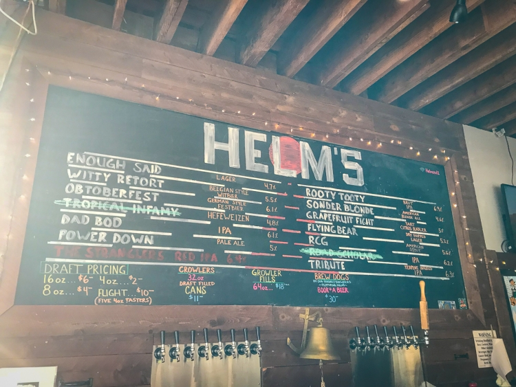 Helm's Ocean Beach | San Diego Craft Beer