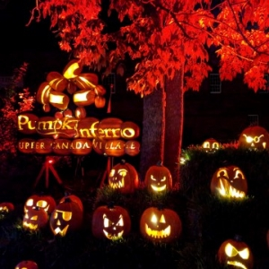 A Night at Pumpkinferno in Ottawa with kids #MurphysDoOttawa