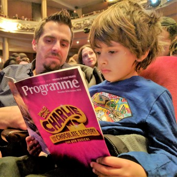 Charlie and the Chocolate Factory Musical with Kids #CharlieMusical