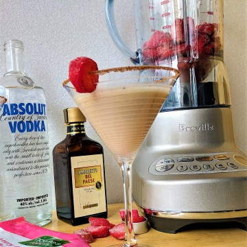 Easy Holiday Cocktails | Breville Blender Giveaway #BALGiftGuide