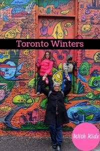 Toronto winter with kids