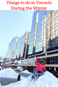 Winter in Toronto with kids things to do