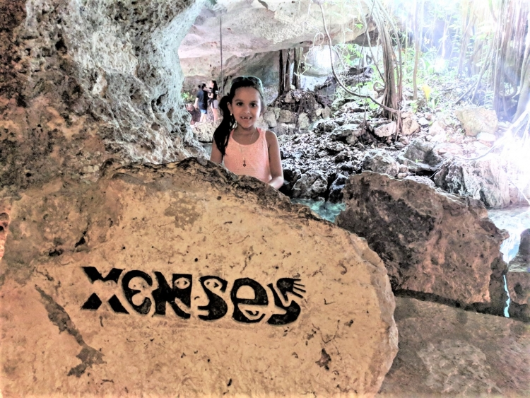 xenses with kids xcaret
