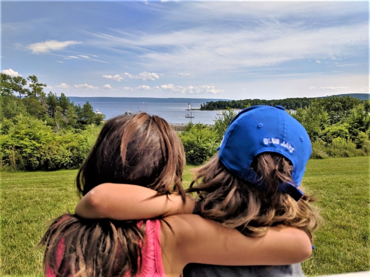 baddeck with kids