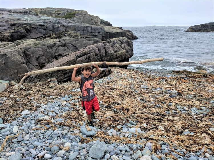 louisbough beach, louisbourg fortress with kids, day trips from sydney ns