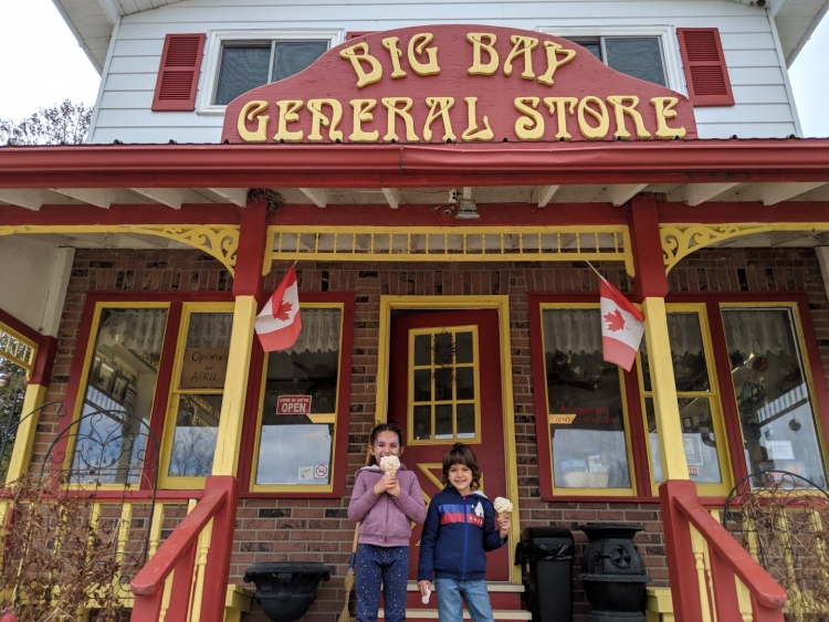 Things to do with kids in Canada. One of the oldest general stores in Canada