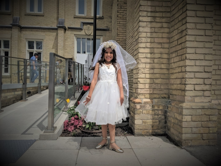 communion first holy communion girls dres