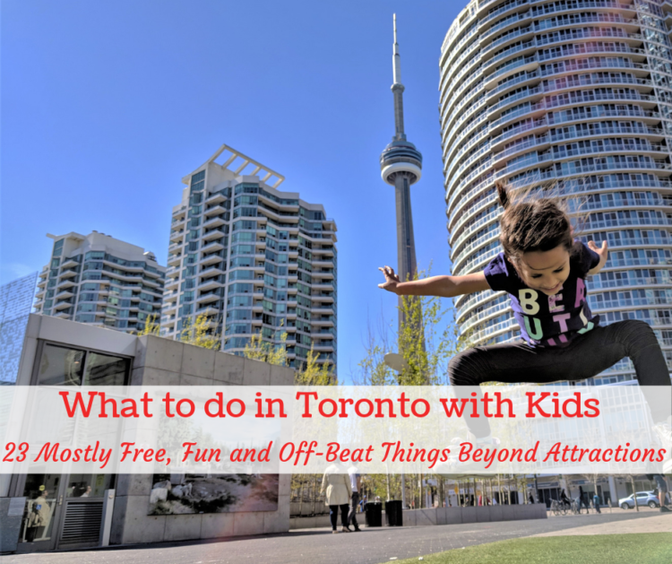 Unique things to do in Toronto with kids beyond attractions
