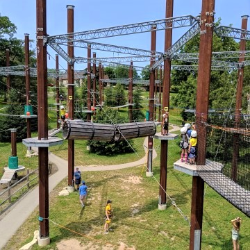 Adventure Course in Niagara Falls with Kids