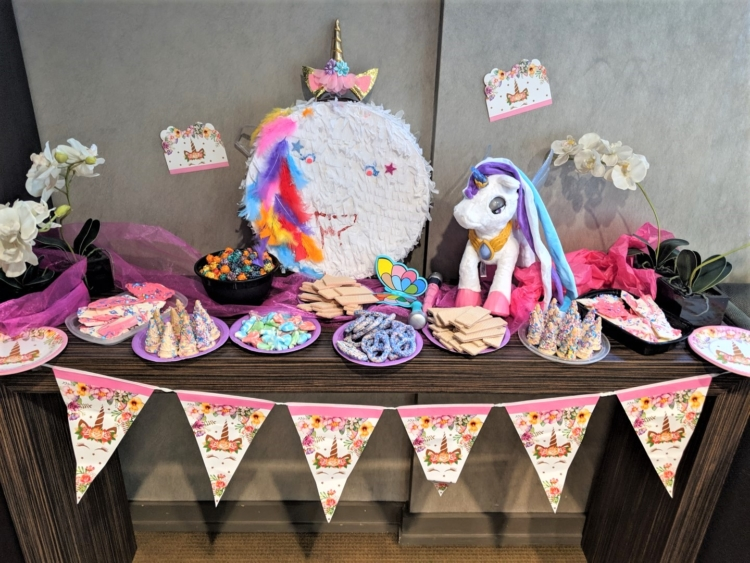Easy Unicorn birthday party toronto