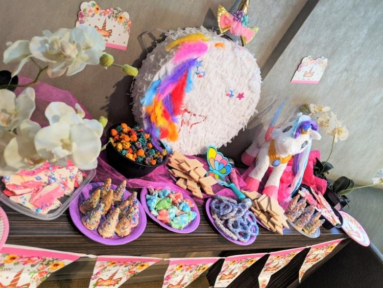 Unicorn birthday party toronto