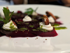 beet Arezzo the fives beach food