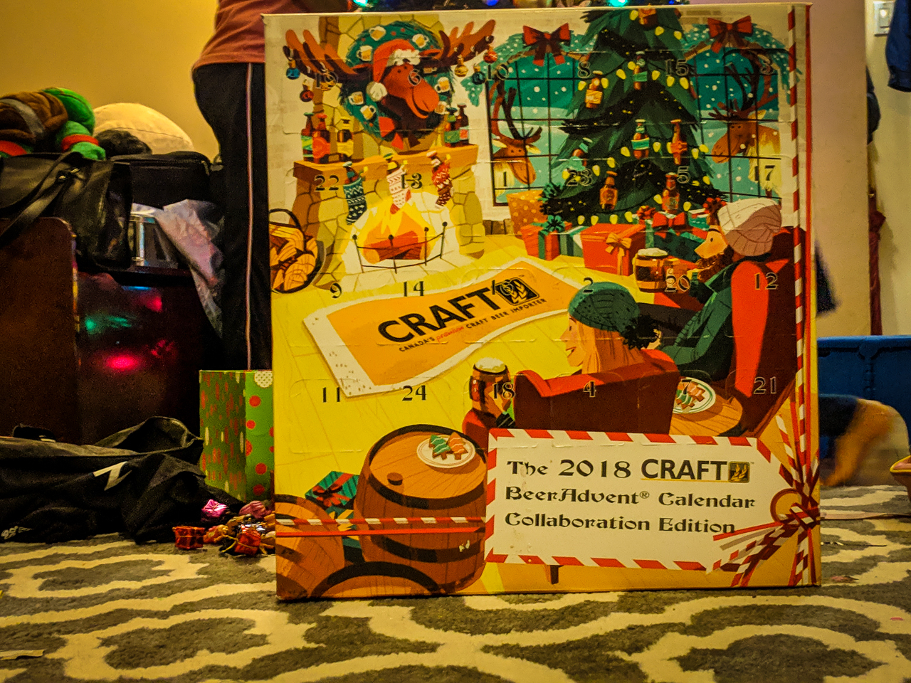 Craft BeerAdvent Calendar Box